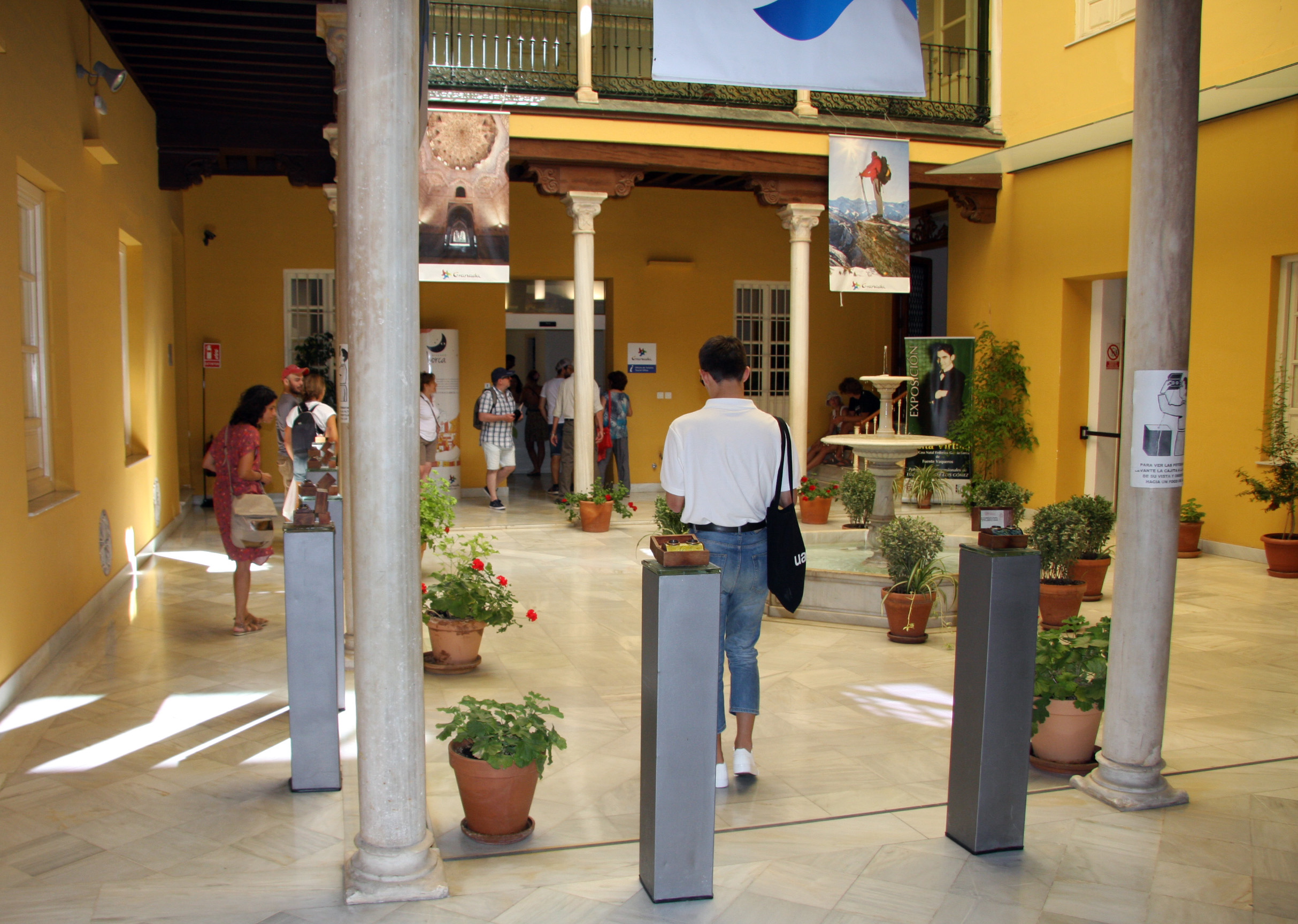 La llegada de turistas a la provincia de Granada aumenta un 7,35% en el primer semestre de 2019
