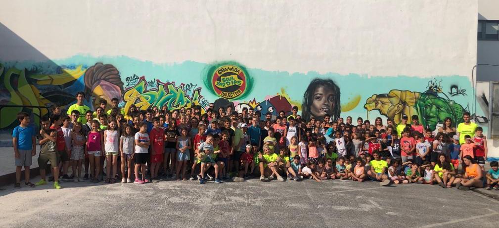Mas de 200 niños disfrutan de las actividades de verano en Armilla