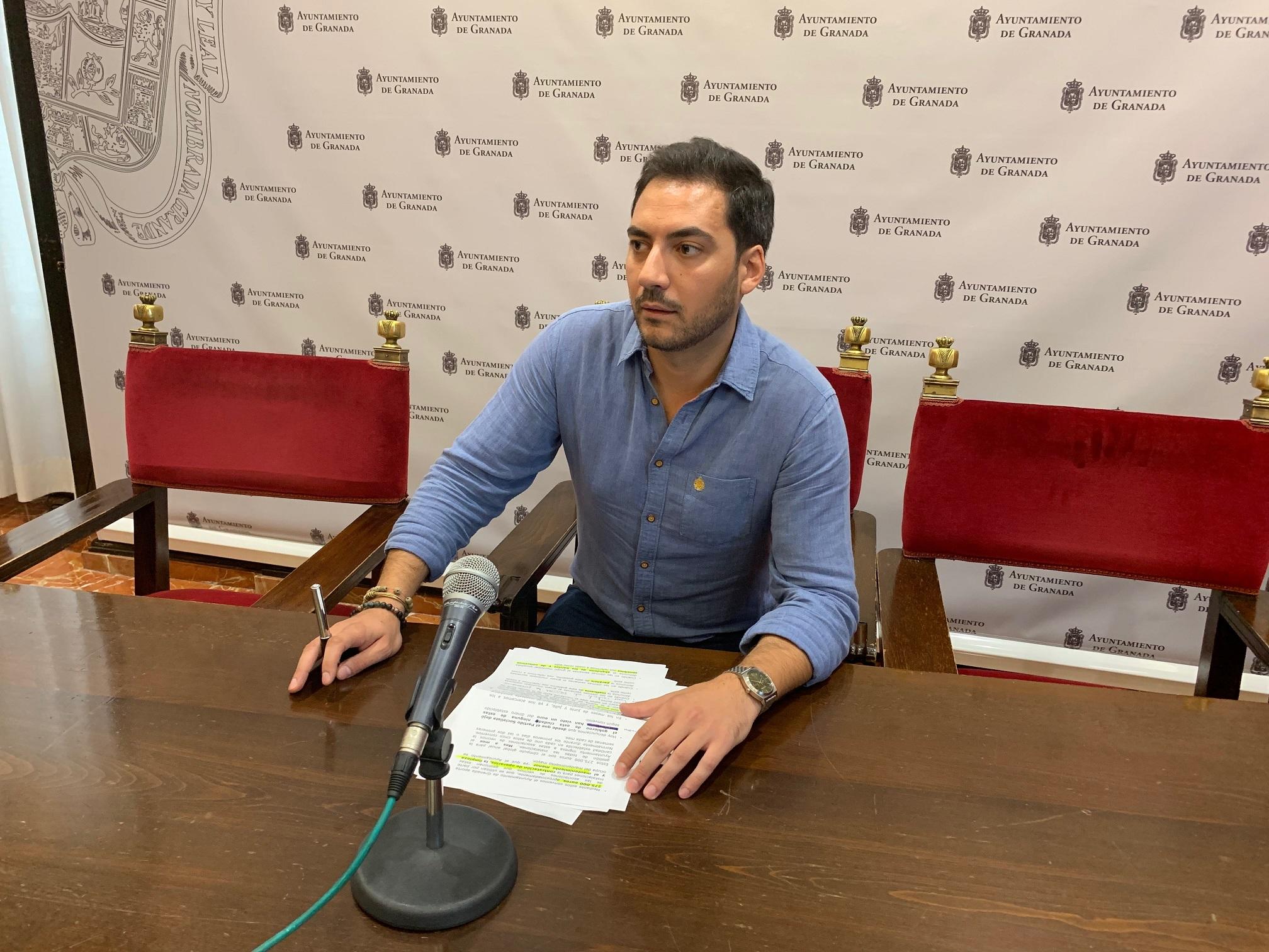 El PSOE acusa al Equipo Gobierno de desmamtelar el 010 y otros servicios municipales aprovechando la pandemia