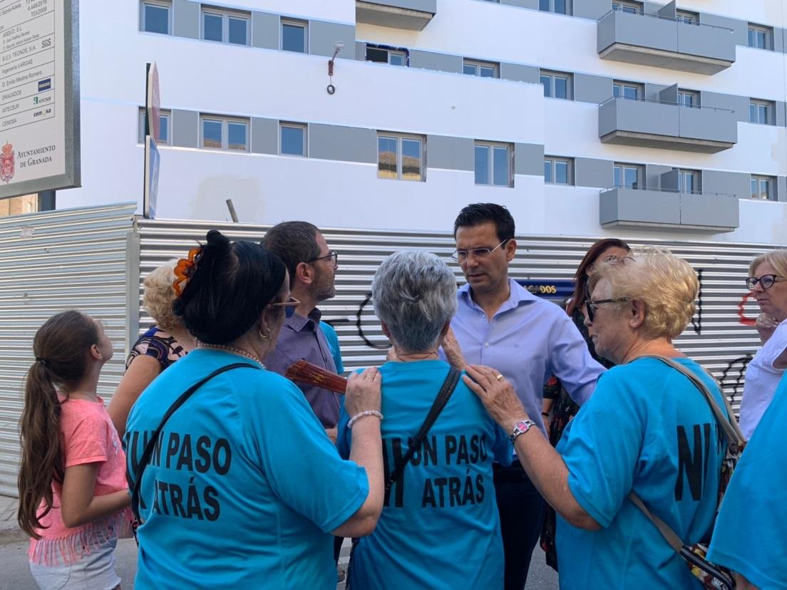 Cuenca pide al alcalde que reclame a Juanma Moreno el dinero que la Junta debe al Ayuntamiento por Santa Adela