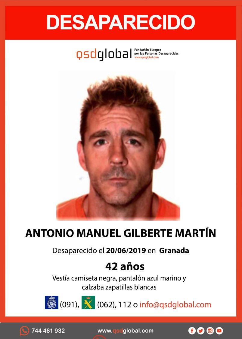 Buscan a un hombre desaparecido en Granada desde el 20 de junio