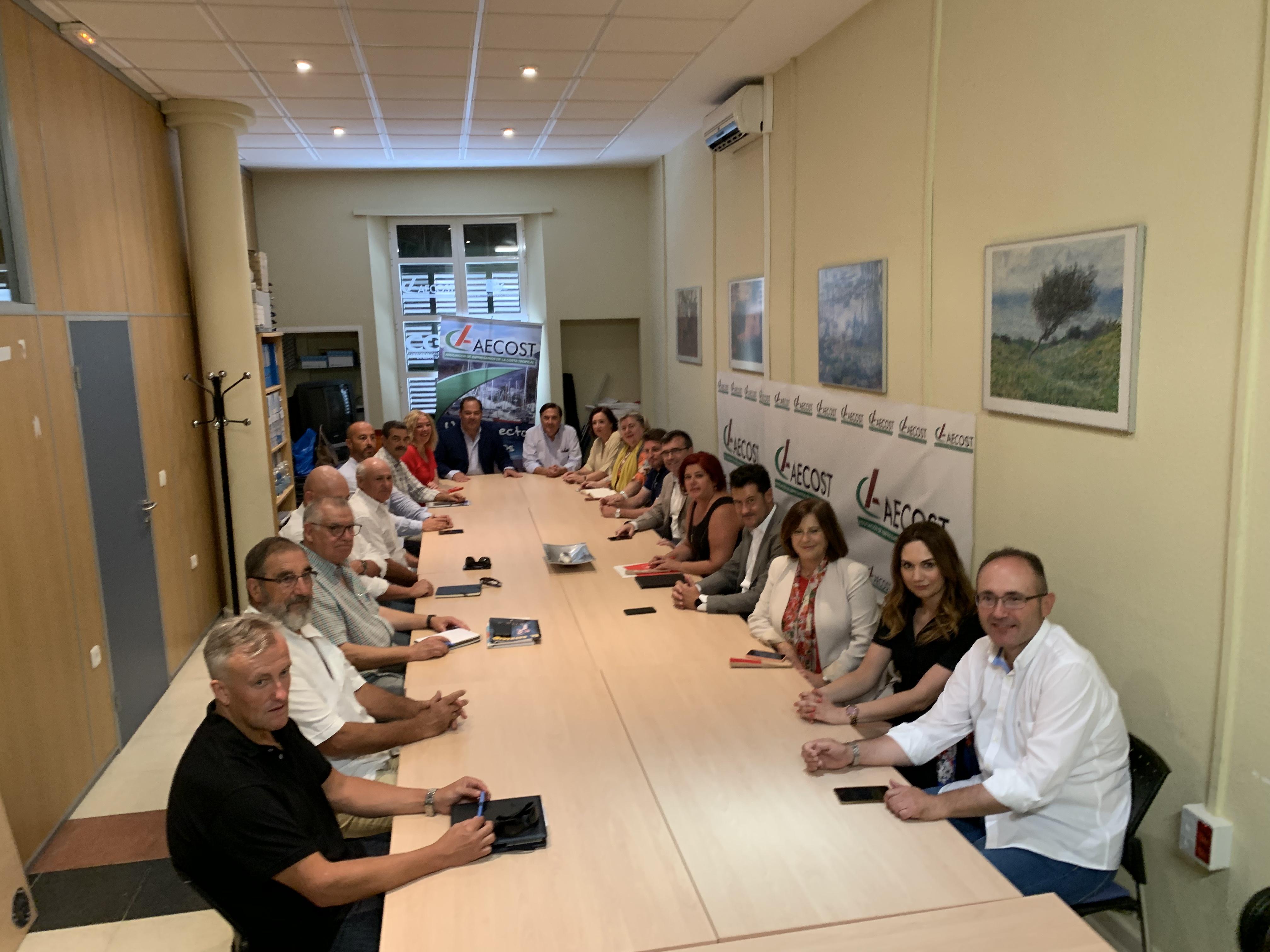 El PSOE defenderá ante las administraciones que se aceleren los proyectos pendientes de la Costa