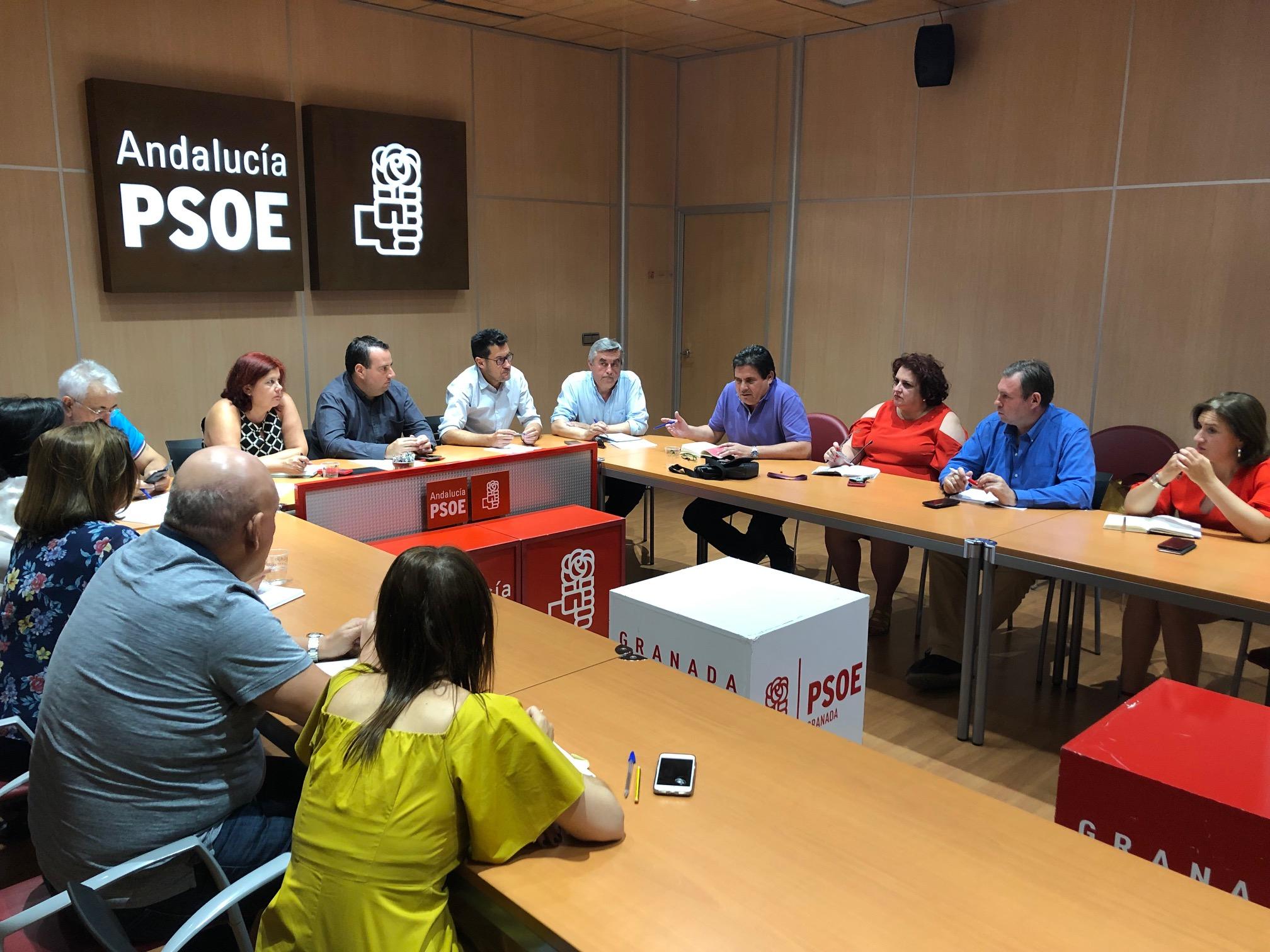 El PSOE de Granada exige a la Junta que aclare si prepara despidos masivos para privatizar servicios públicos