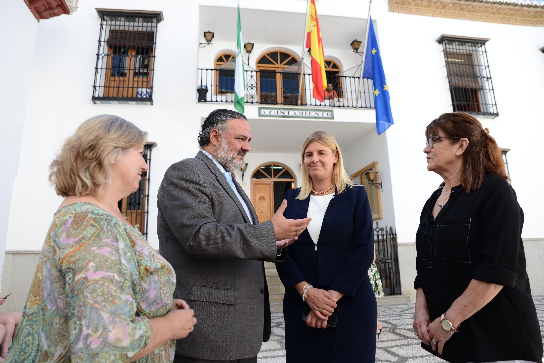 La Junta se compromete a «transformar La Zubia como municipio estratégico del área metropolitana»