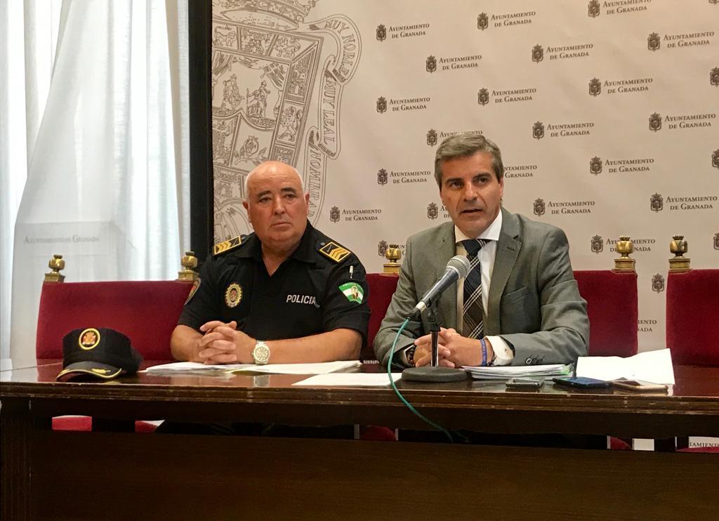 José Manuel Jiménez Avilés, nuevo jefe de la Policía Local de Granada