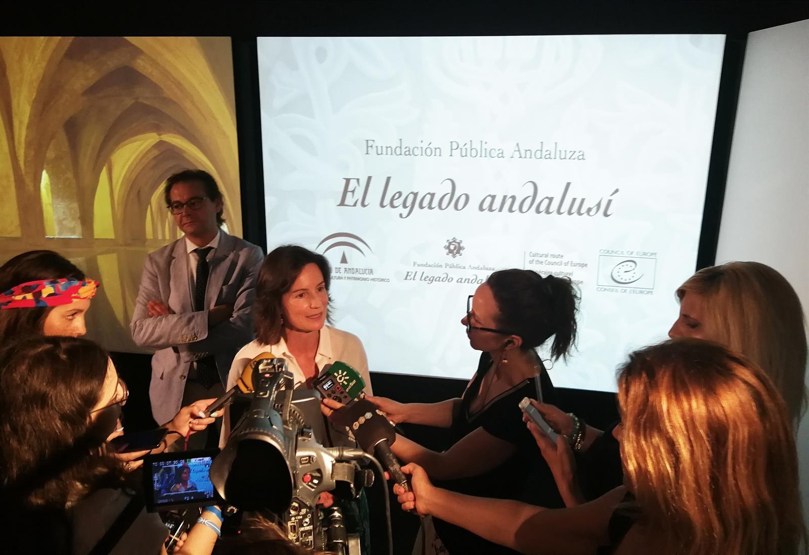 La Junta ve en 'El legado andalusí' una carta de presentación de Andalucía en el exterior