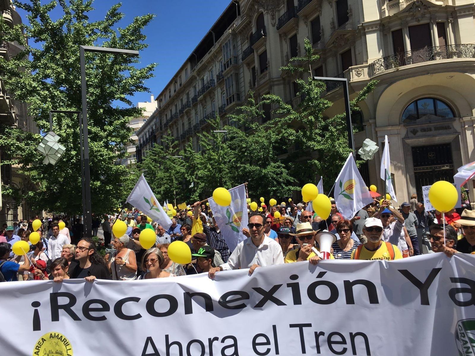 Marea Amarilla pide convocar la Mesa del Ferrocarril tras las declaraciones de Salvador