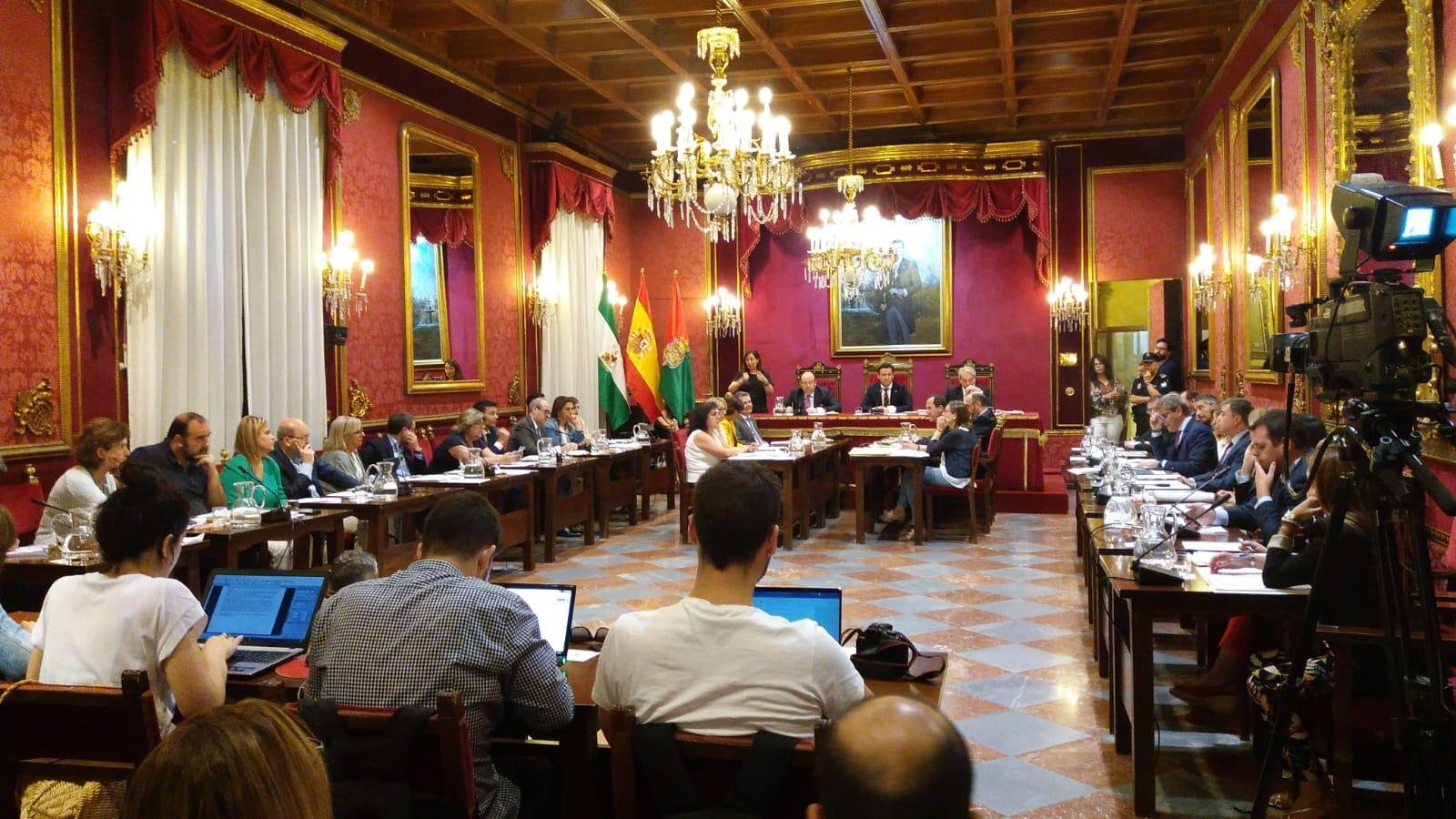 El presupuesto municipal de Granada será sometido a aprobación inicial el miércoles