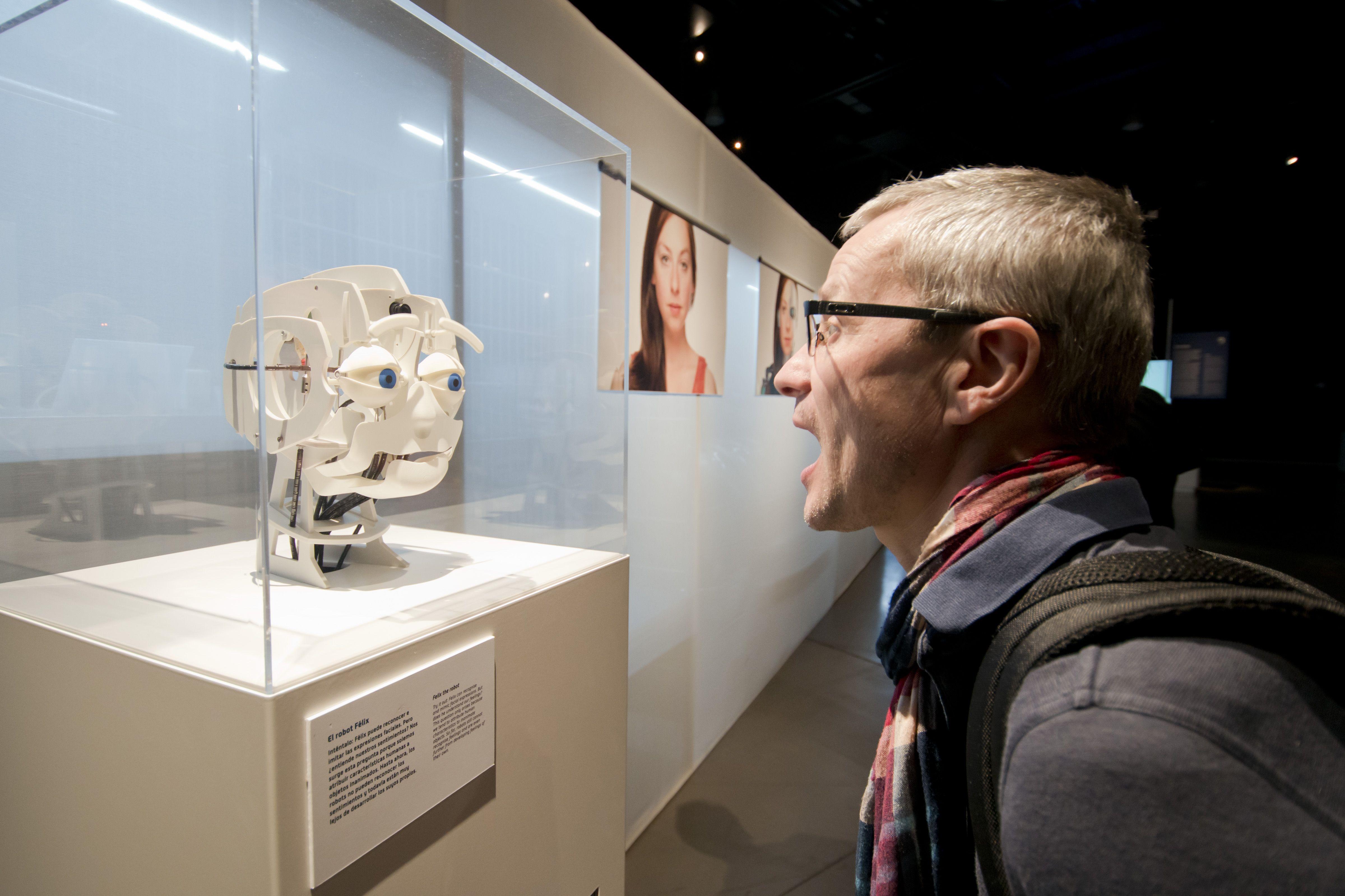 El Parque de las Ciencias desembarca en Burdeos con una exposición sobre la relación entre humanos y robots