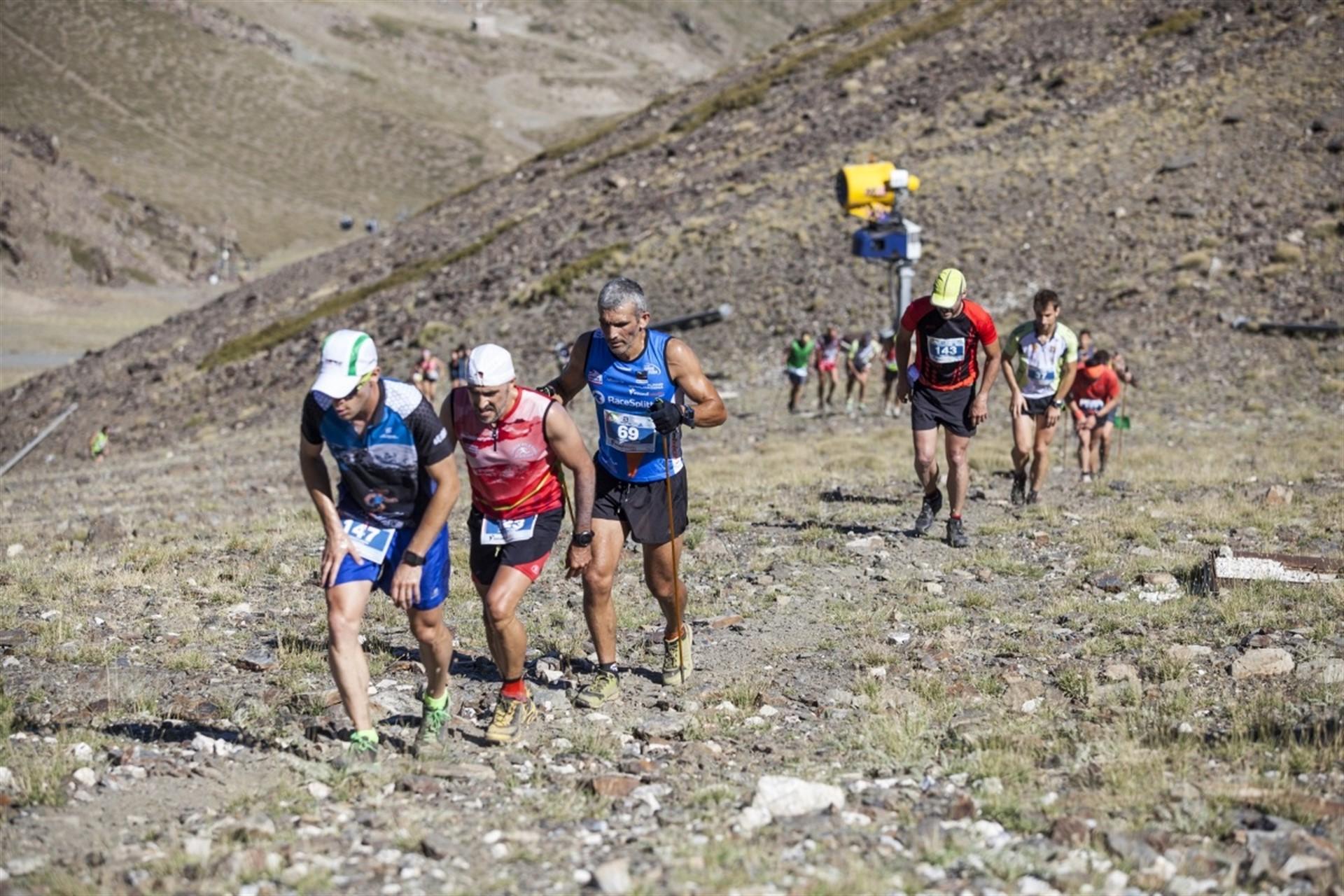 Sierra Nevada acoge el Campeonato de España de Kilómetro Vertical