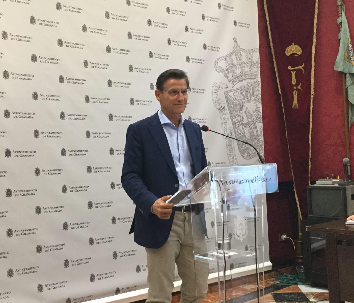 """Luis Salvador: """"si Vox votara en contra en el pleno de organización, el resultado sería nulo"""""""