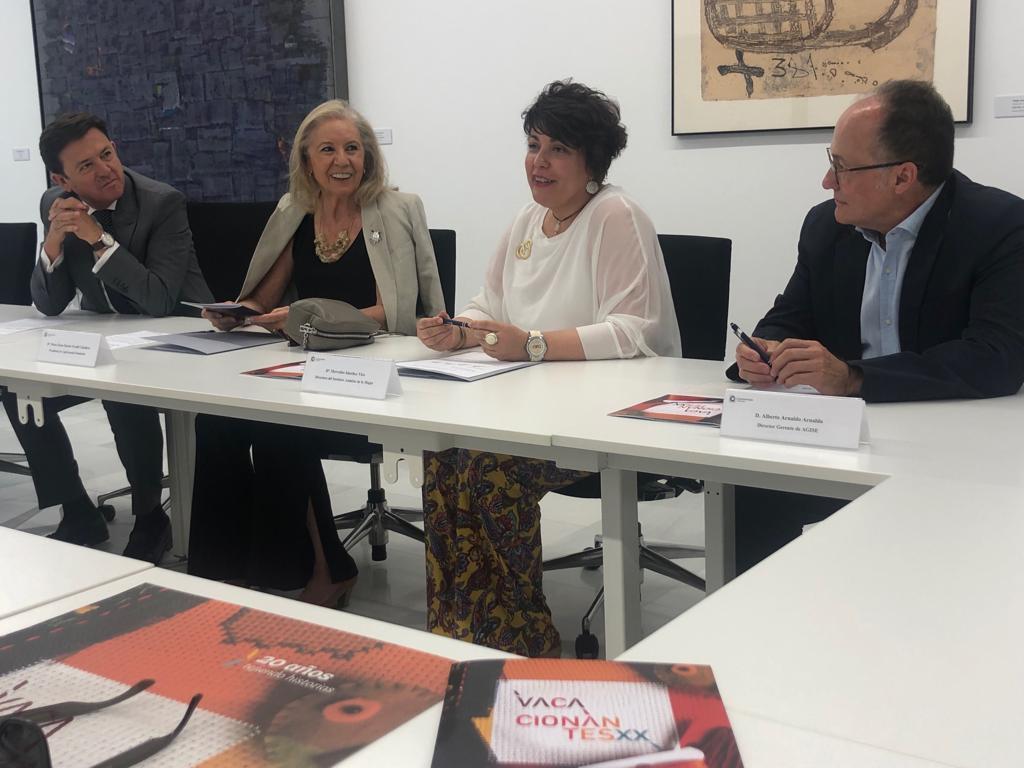 El IAM y CajaGranada Fundación apoyan el programa Vacacionantes para víctimas de violencia de género
