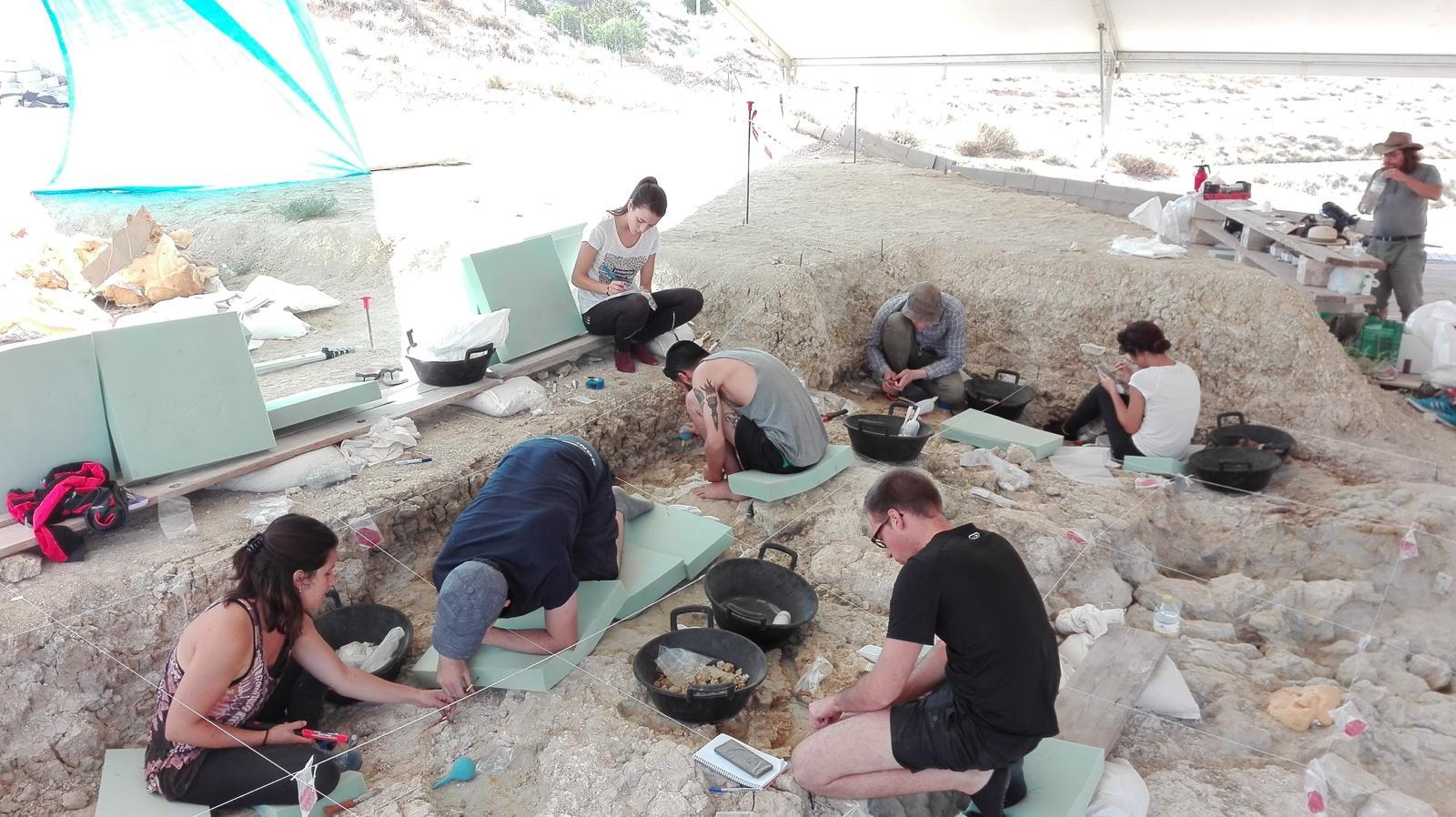 Encontrados en Orce utensilios del homínido más antiguo de Europa