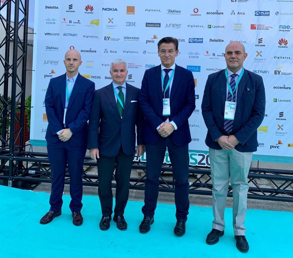Luis Salvador destaca el potencial de Granada para atraer proyectos tecnológicos