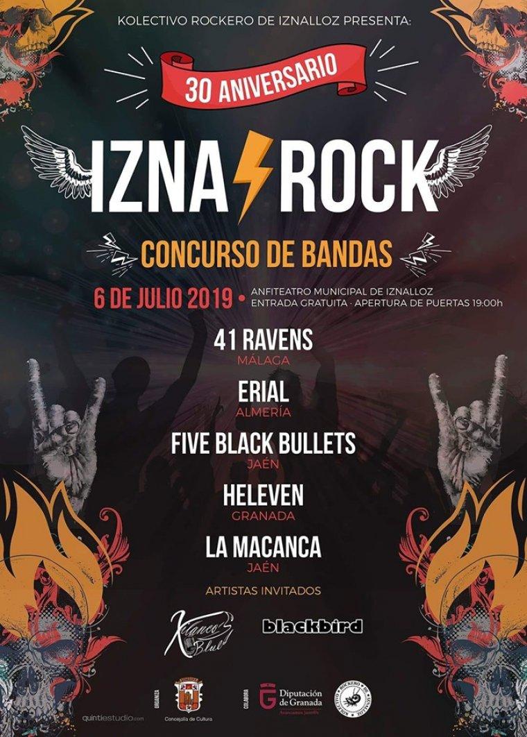 Iznalloz vuelve a transformarse en la cuna del rock emergente con su concurso de bandas