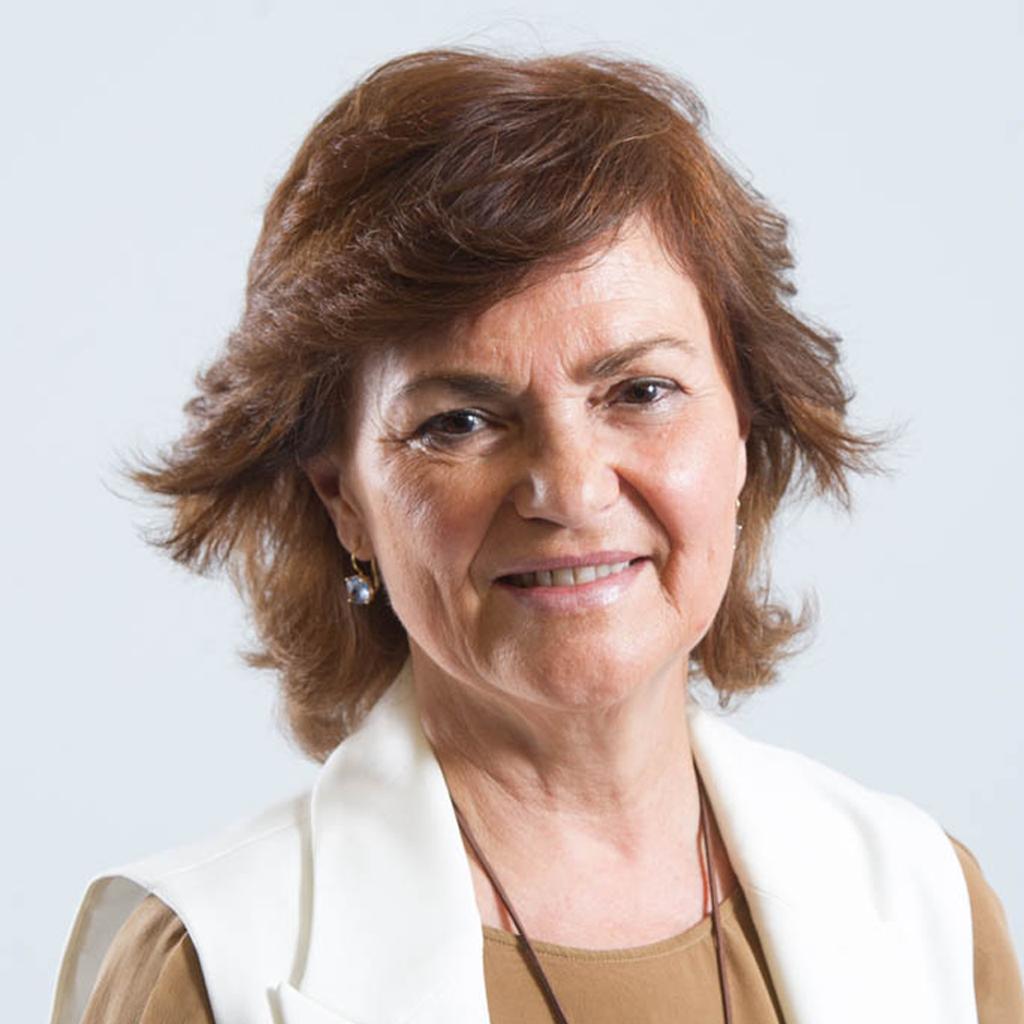 Carmen Calvo lamenta la muerte de Mariluz Escribano