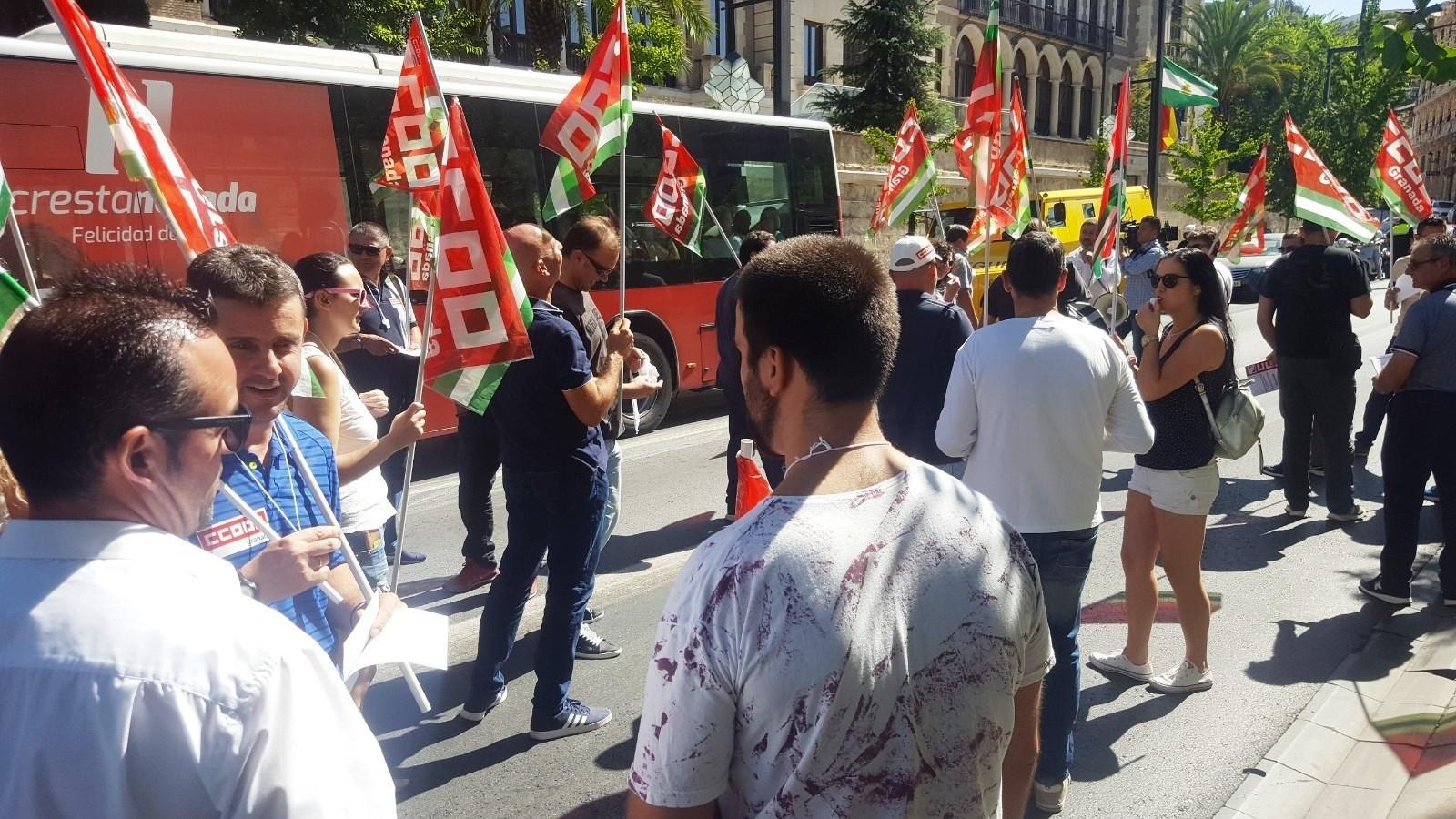 CCOO anuncia denuncia a «Cleanmat» ante la Inspección de Trabajo por discriminación sindical