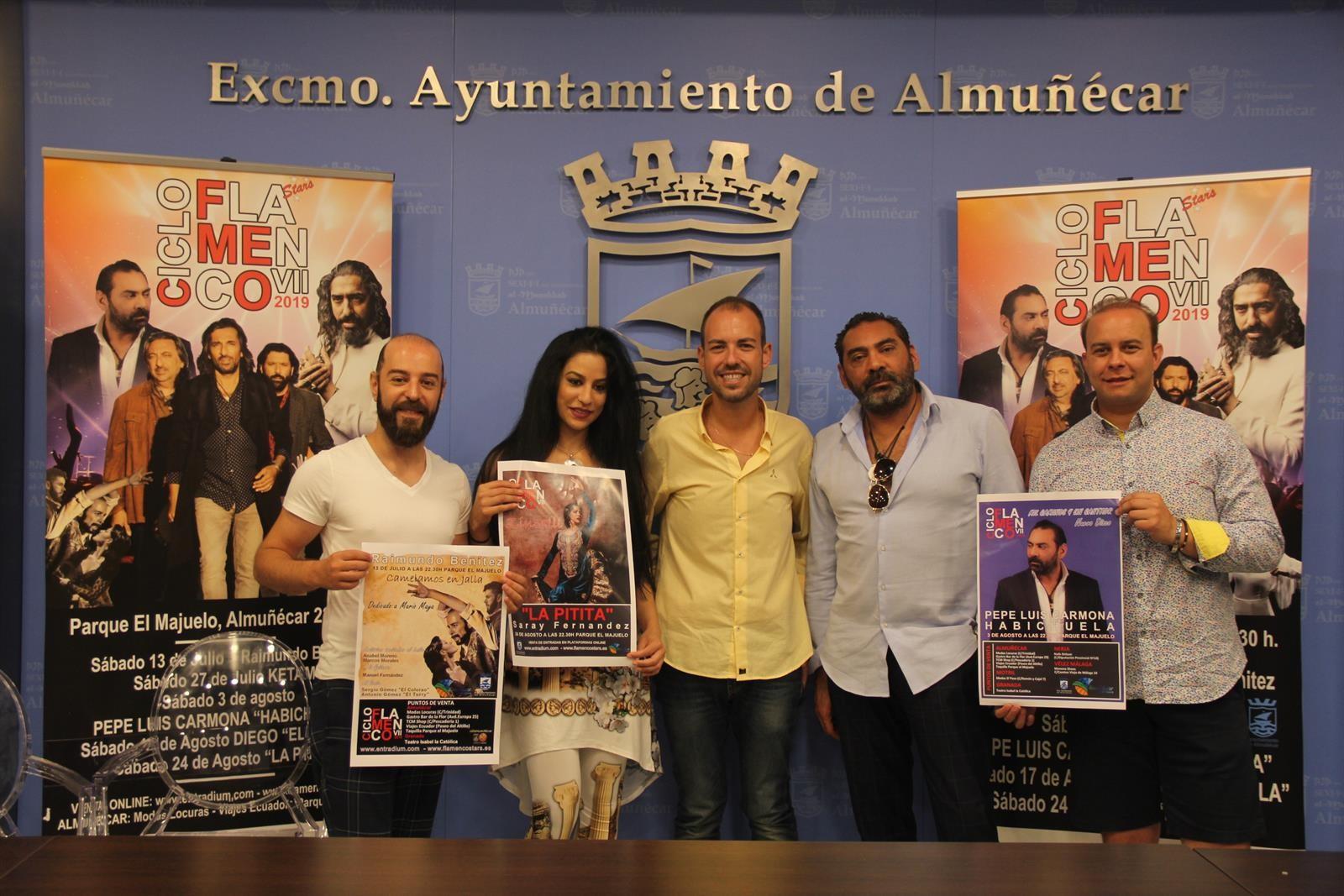 Ketama, Diego 'el Cigala', Pepe Luis 'Habichuela' y 'la Pitita', en el VII ciclo flamenco de Almuñécar