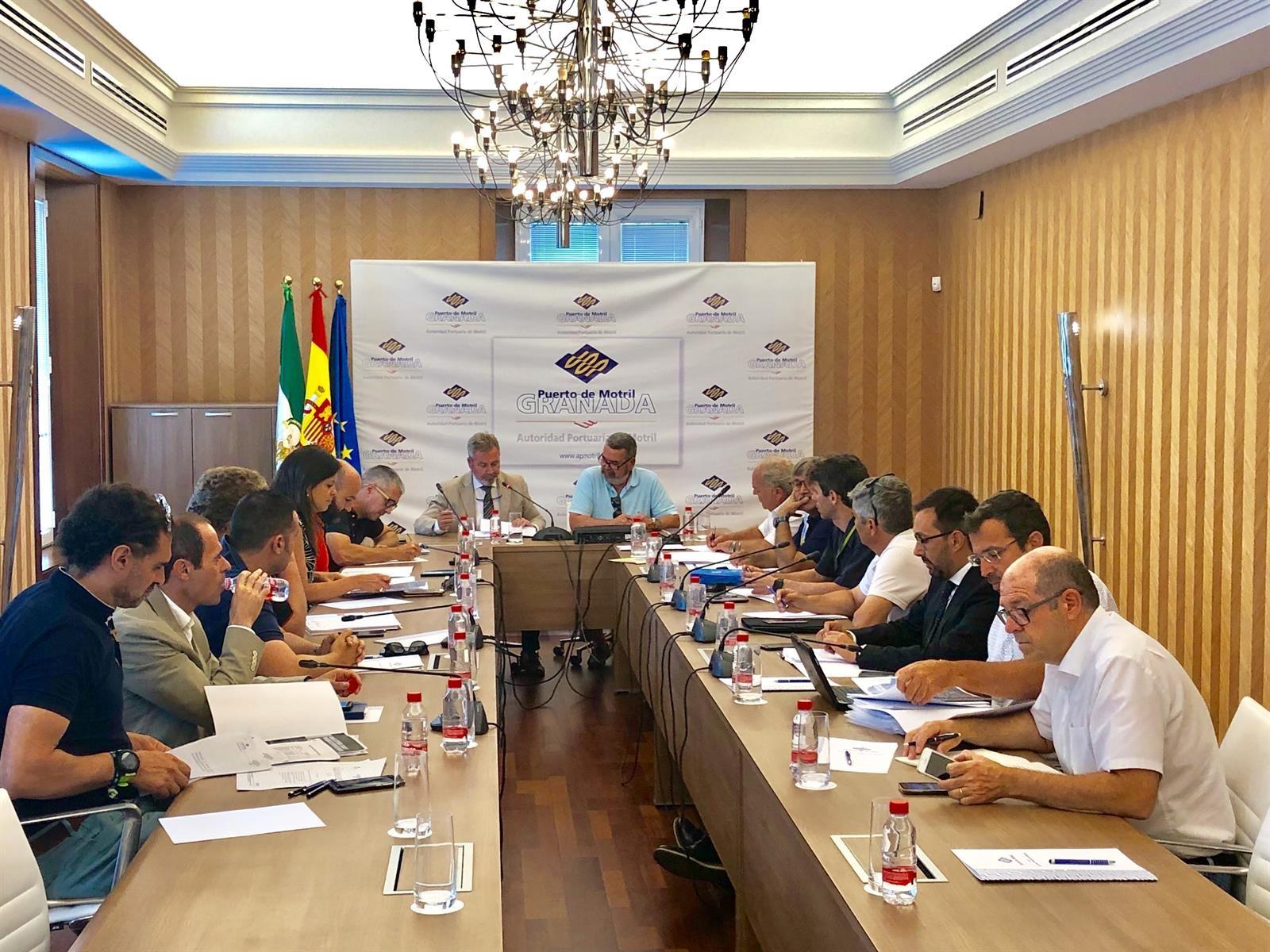 El Puerto de Motril constituye una comisión encargada de las relaciones con la ciudad