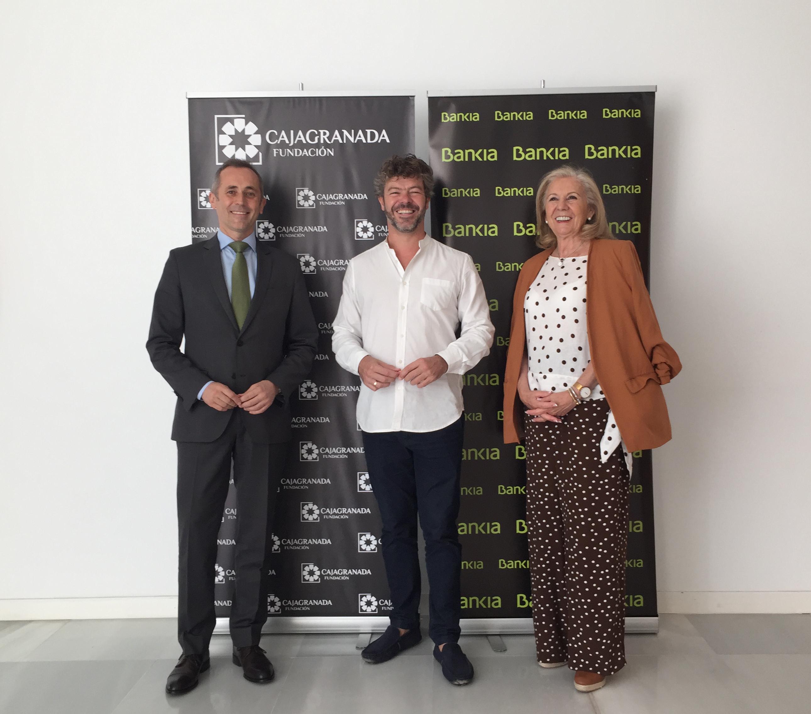 Bankia, CajaGranada Fundación y el Festival de Música y Danza suscriben un nuevo acuerdo de colaboración
