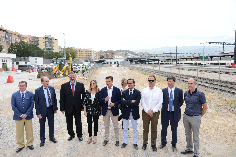 Comienzan las obras del aparcamiento de la estación de Andaluces