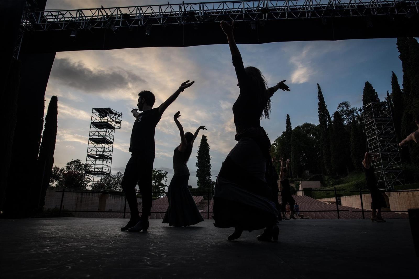 El espectáculo 'Lorca y la pasión' de Marina Heredia se estrena en el Teatro del Generalife