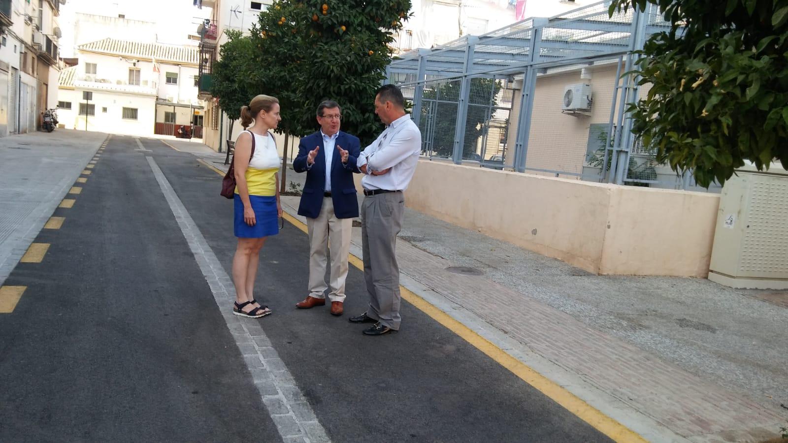 El barrio de Casillas Bajas del Zaidín estrena nueva imagen