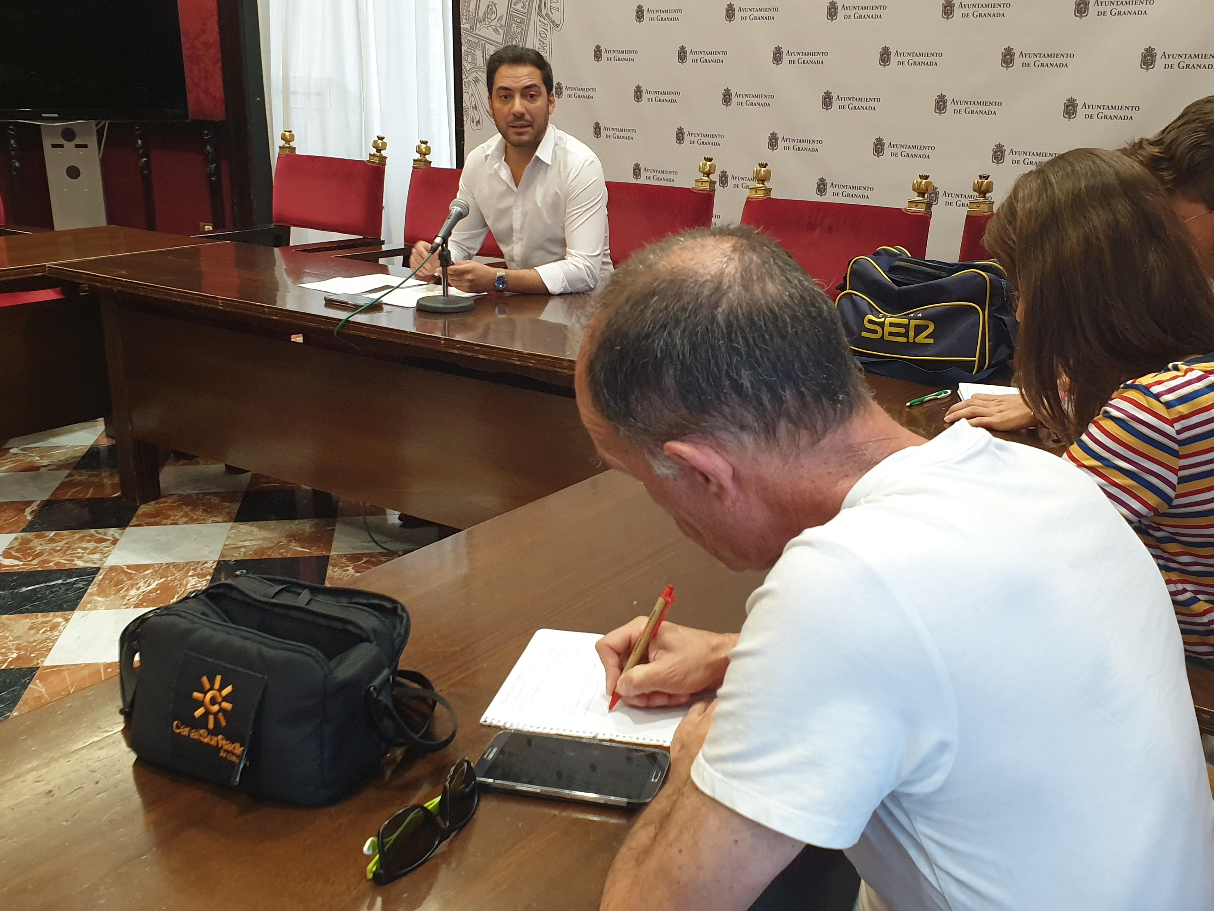 El PSOE exige el inicio de la remodelación de la Plaza de la Concordia