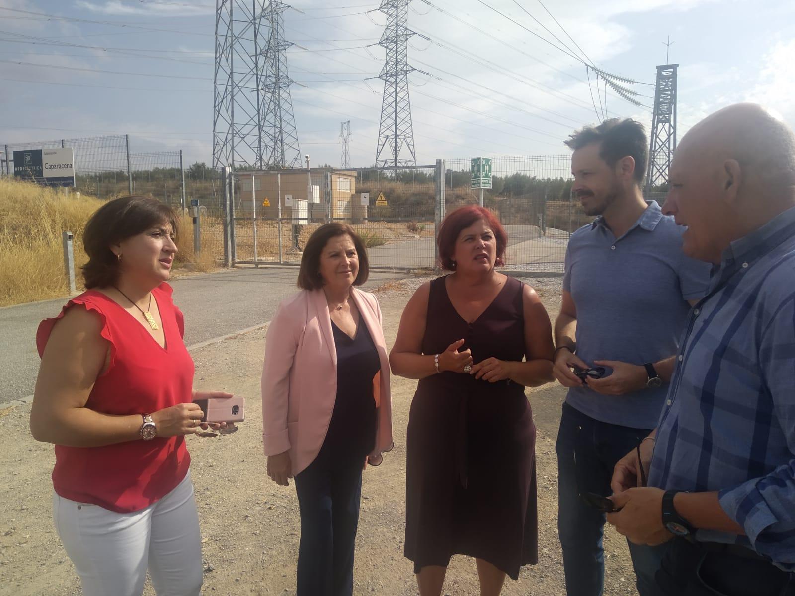 """El PSOE asegura que el eje Baza-Caparacena """"revolucionará"""" el suministro energético en la zona Norte"""