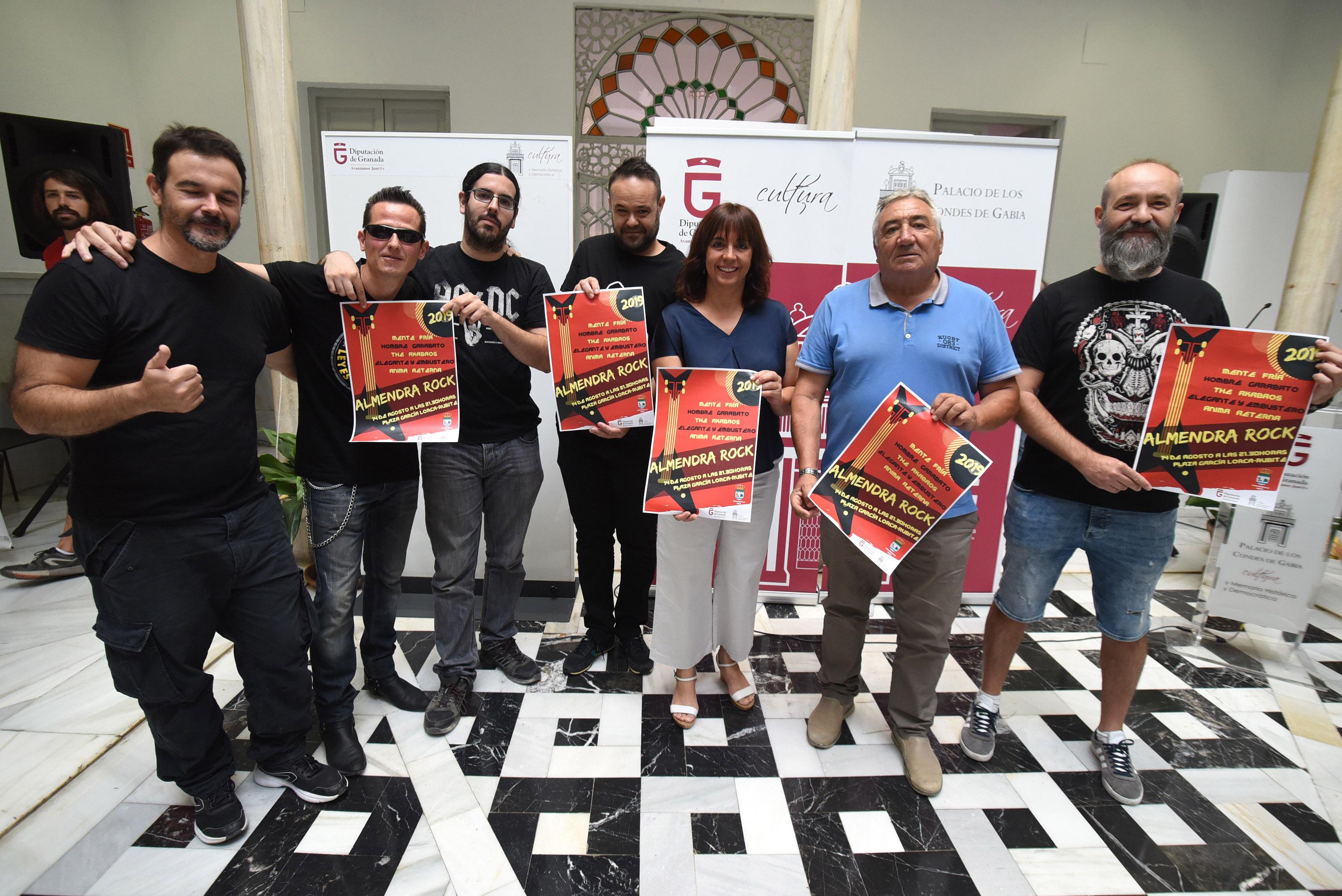 El 'Almendra Rock' vuelve a Rubite para promocionar lo mejor de la música local