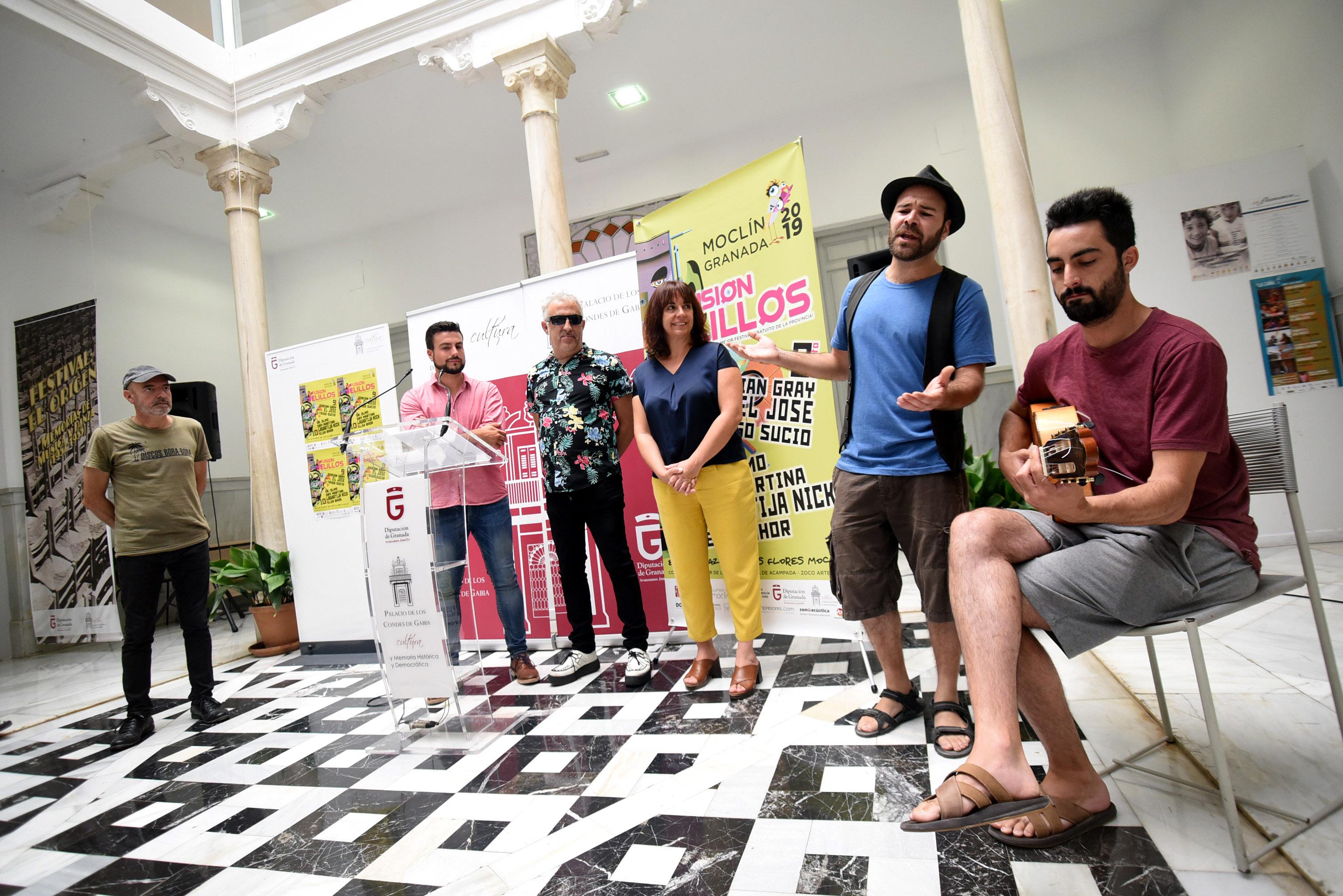 El festival Fusión Velillos de Moclín apuesta este año por una programación 'made in Granada'
