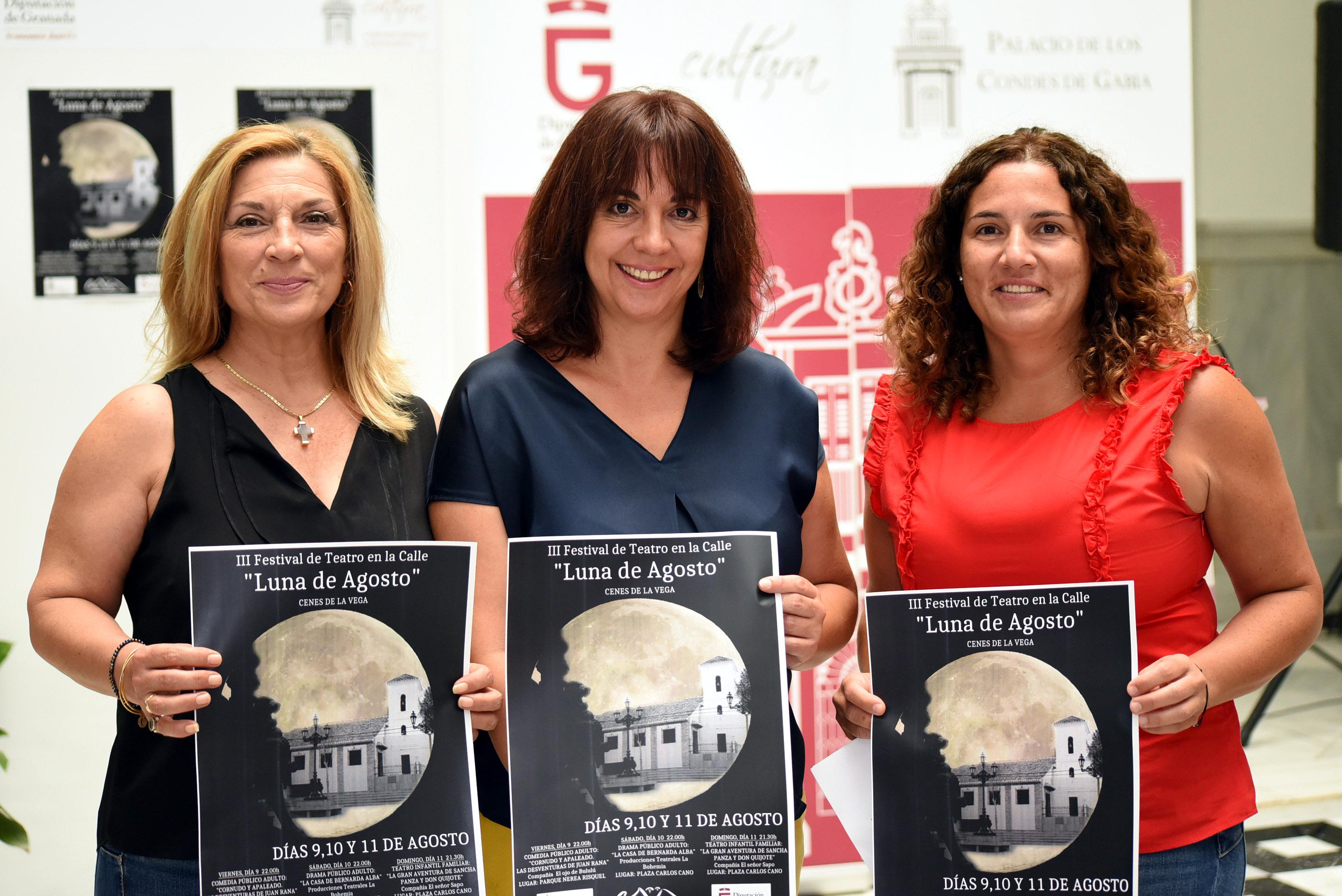 Cenes de la Vega ofrece tres noches de teatro para todos los públicos en su 'Luna de Agosto'