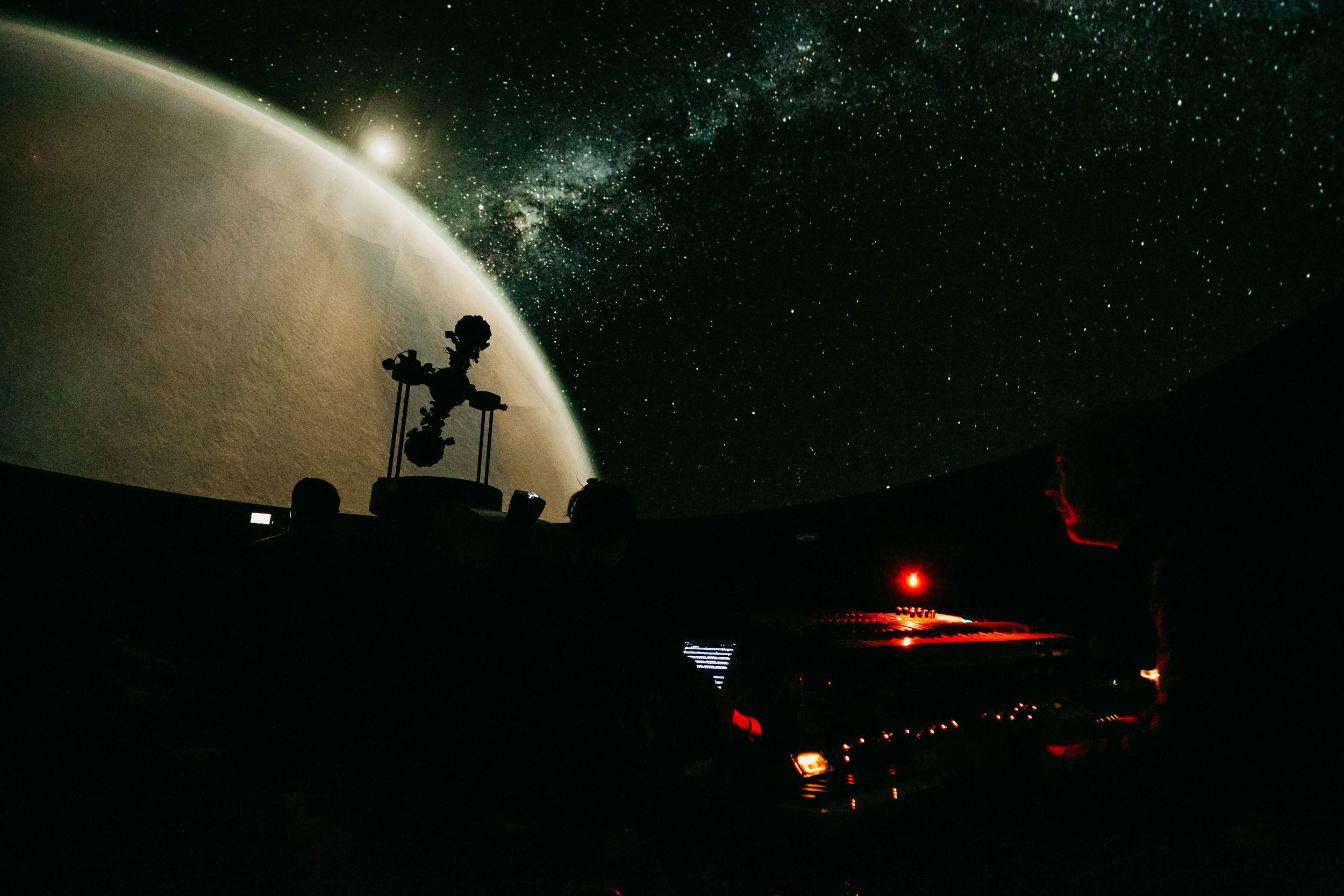 El Planetario del Parque de las Ciencias explica estos días cómo observar las Perseidas