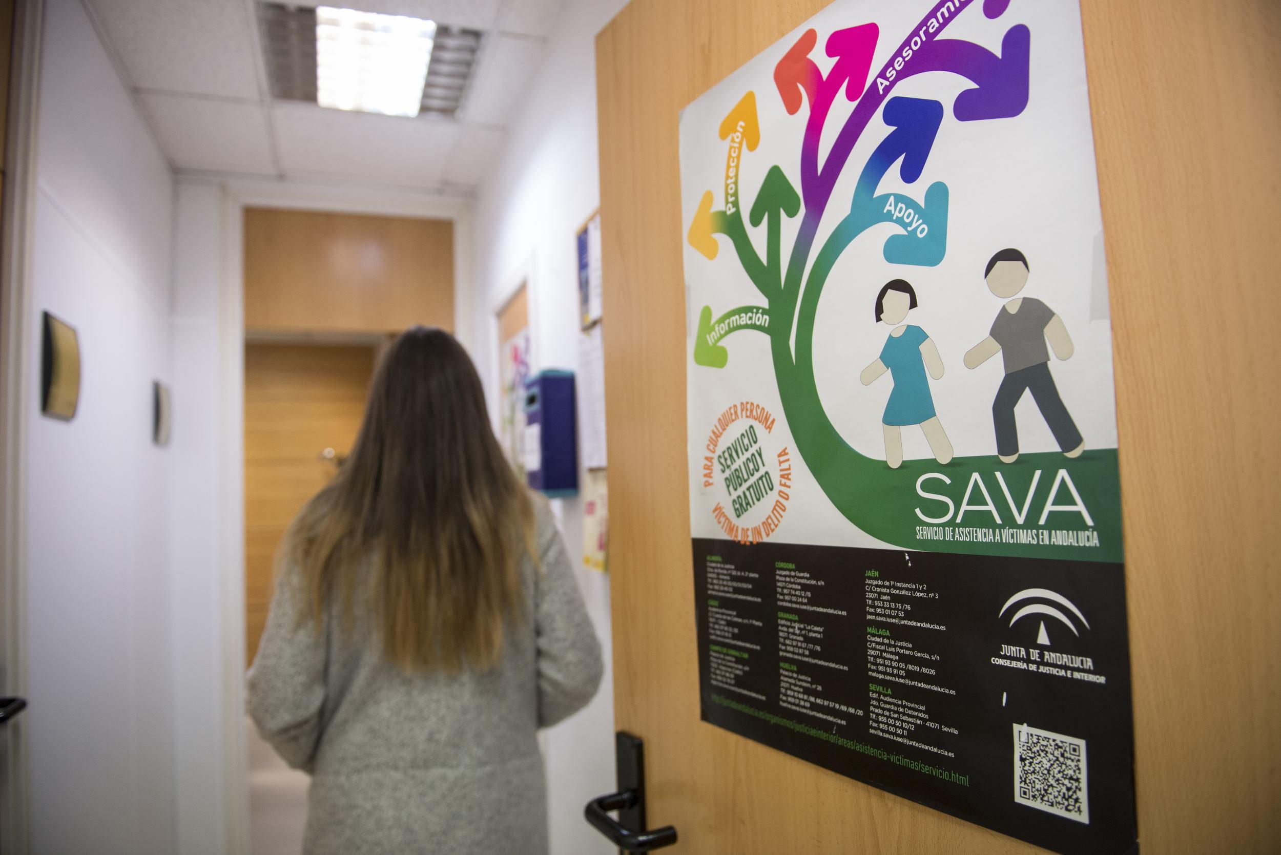 El SAVA realiza casi 4.000 intervenciones en el primer semestre para atender a víctimas de delitos en Granada