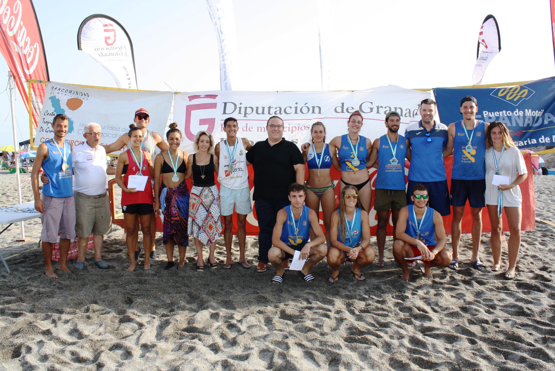 Salobreña pone el broche final al XXV Circuito de Voley Playa Costra Tropical