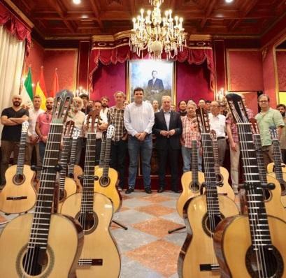 Granada, sede de la tercera edición del concurso de constructores de guitarra más prestigioso del mundo