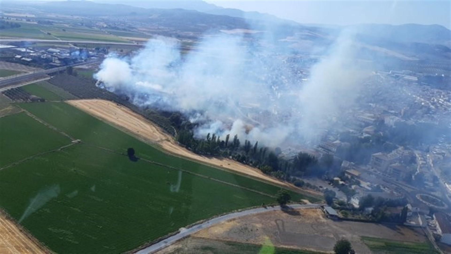 Declarado un incendio forestal en Pinos Puente