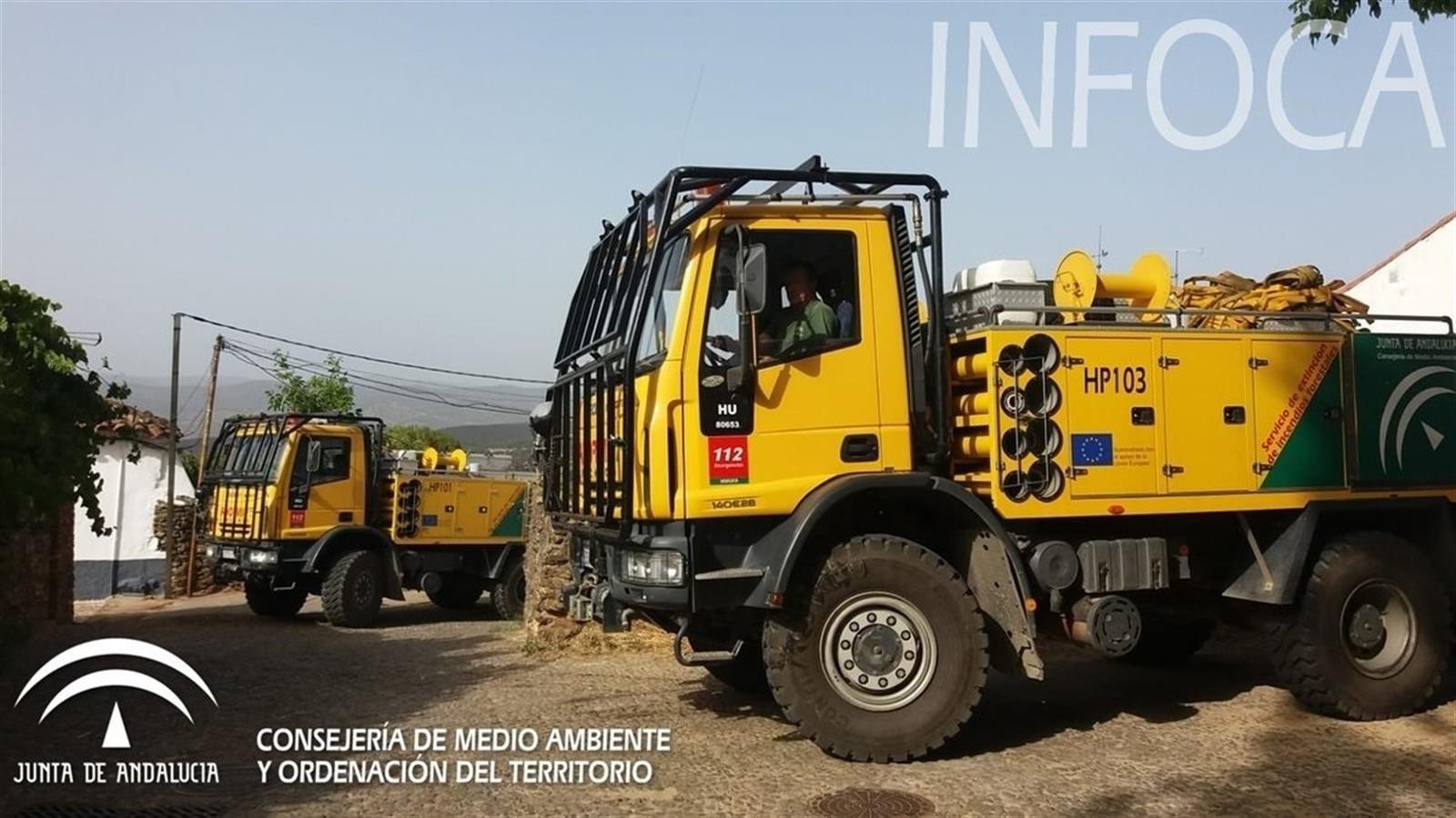 Extinguido el incendio forestal de El Pinar tras afectar a cinco hectáreas de matorral