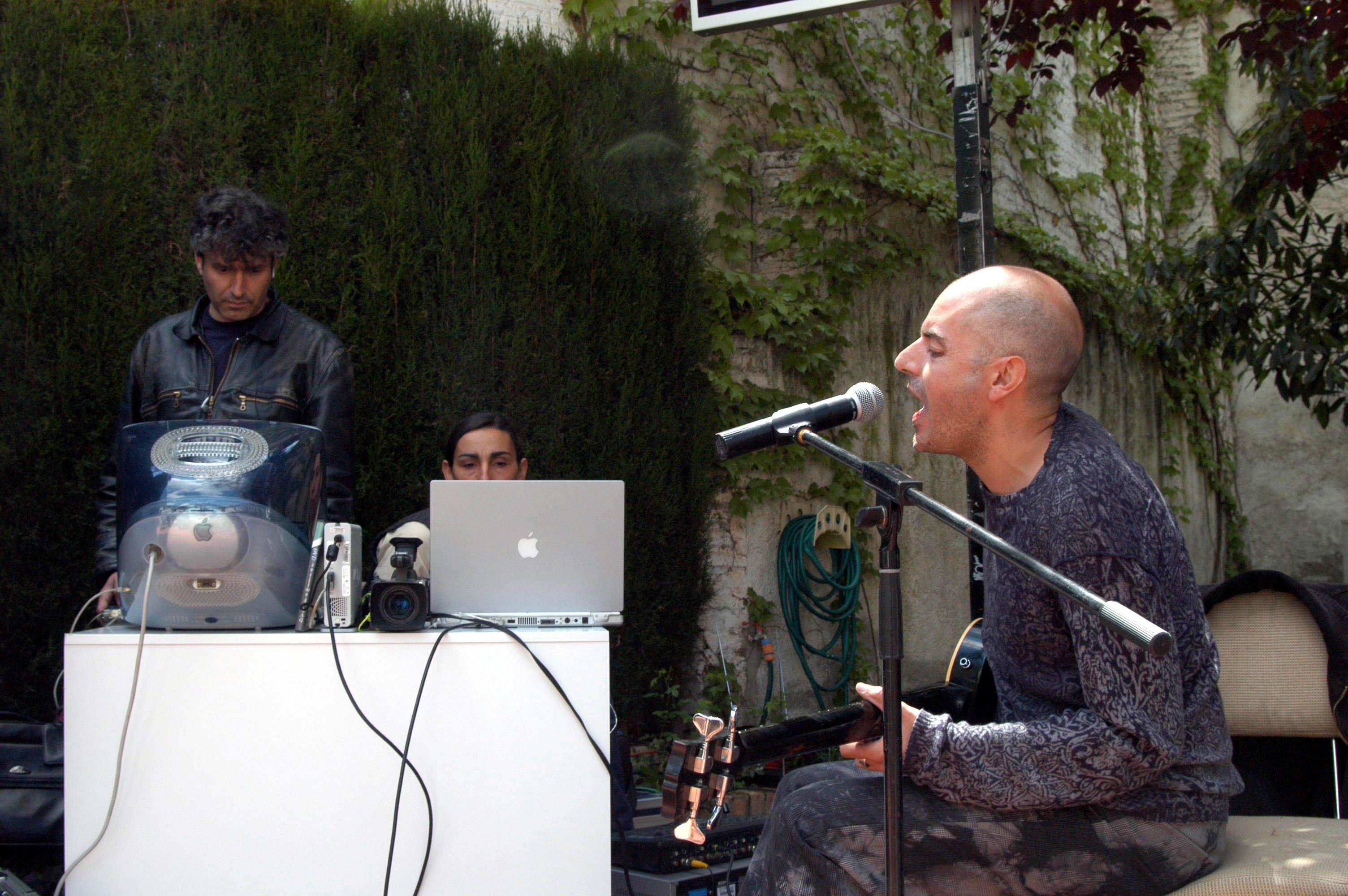 Antonio Arias presentará su nuevo proyecto musical en el Jardín Nazarí de Vélez de Benaudalla