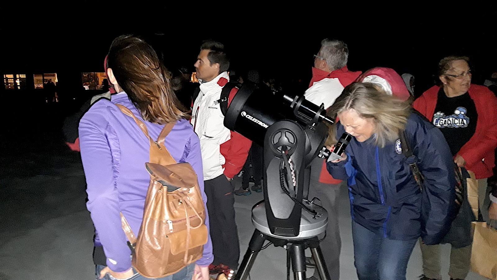 Unas 1.000 personas observan Las Perseidas desde Sierra Nevada
