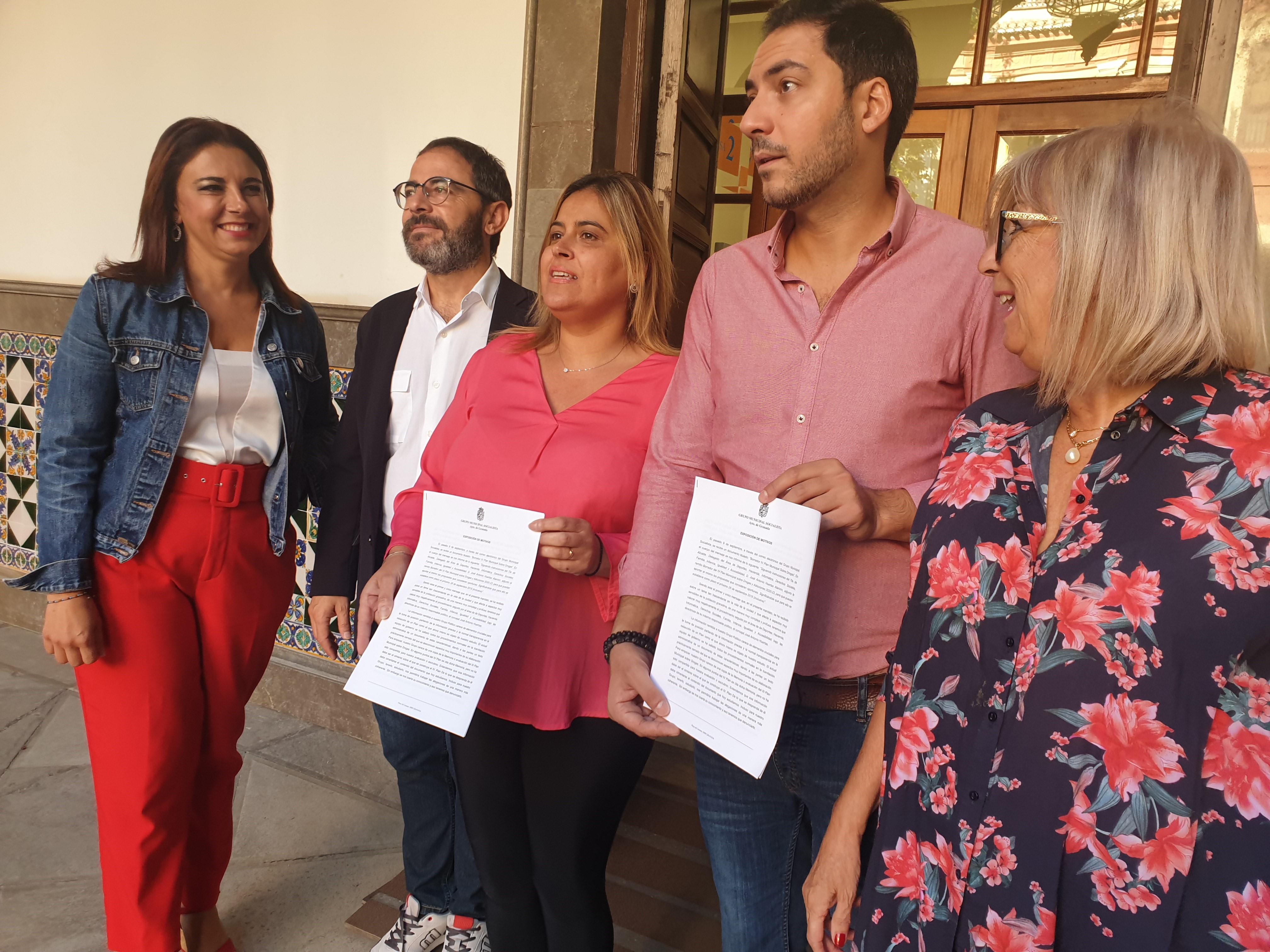 El PSOE critica que la derecha esté recortando espacios de participación en el Ayuntamiento