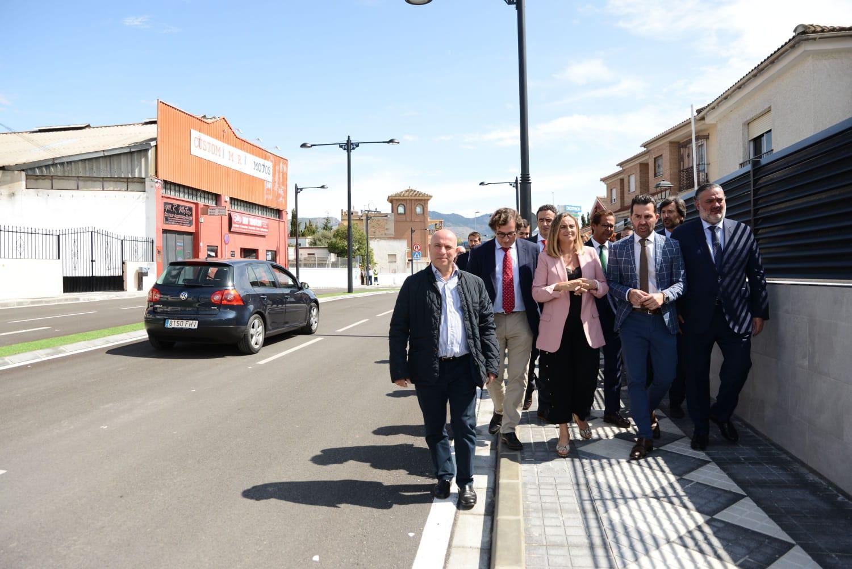 Maracena estrena nuevo vial de acceso al municipio desde la A44