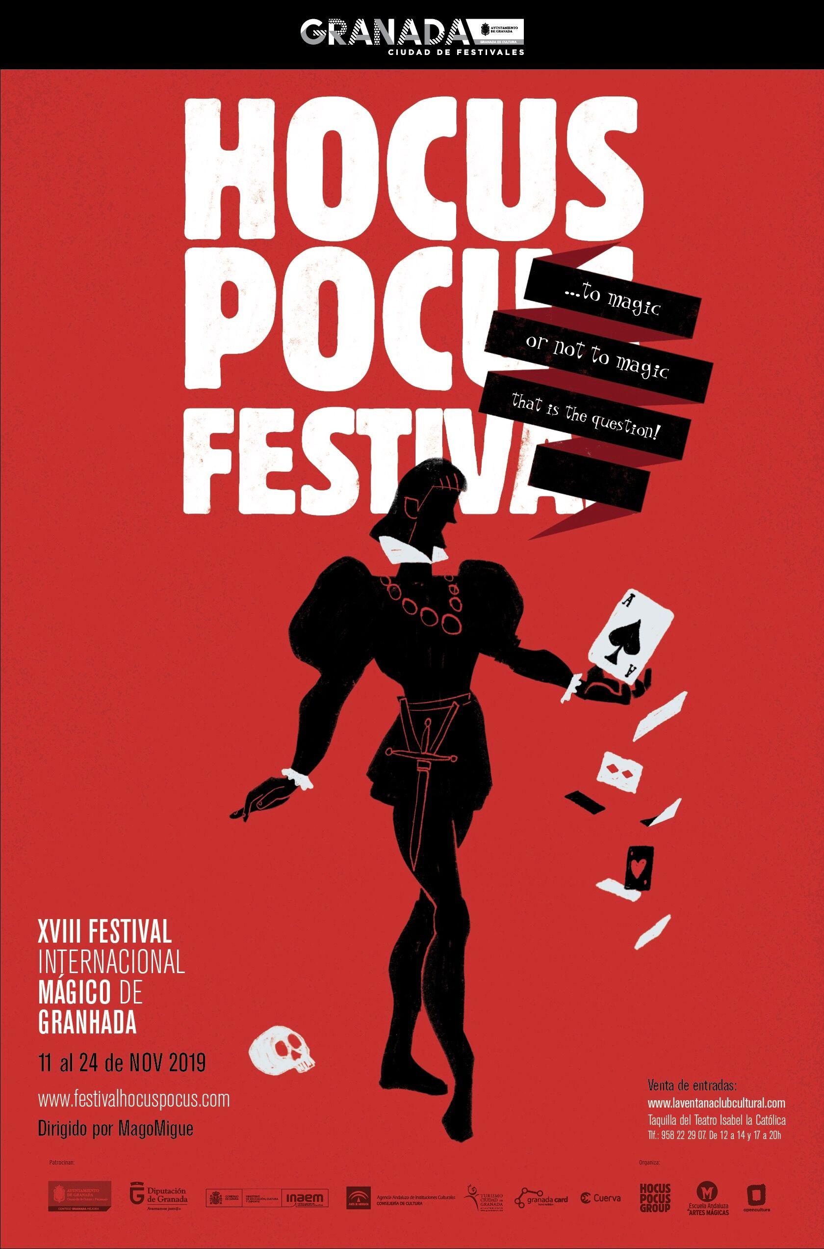 El festival Hocus Pocus llega a sus 18 años con una edición dedicada a la magia del teatro