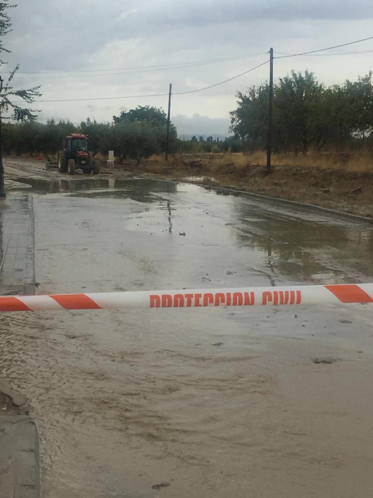 Una veintena de carreteras de la provincia siguen afectadas después del temporal