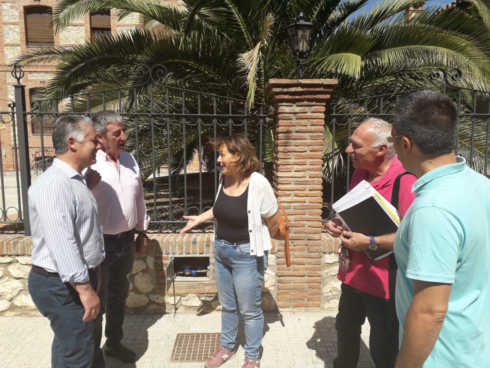 Diputación renueva los contadores de Benalúa y Soportújar para favorecer el ahorro de agua