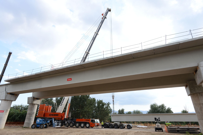 El nuevo puente de la A92 hacia Huétor Tájar estará finalizado antes de 2020