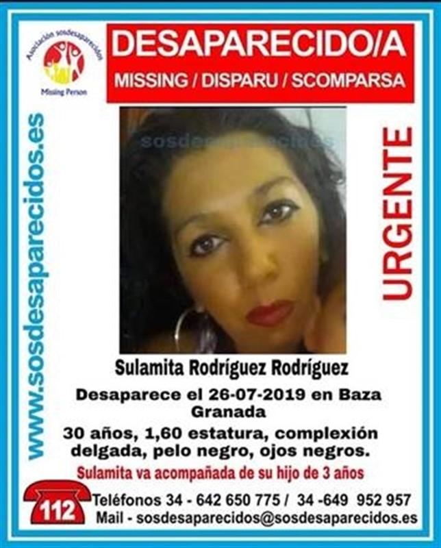 Contacta con su familia la mujer desaparecida en Baza, que se encuentra en buen estado