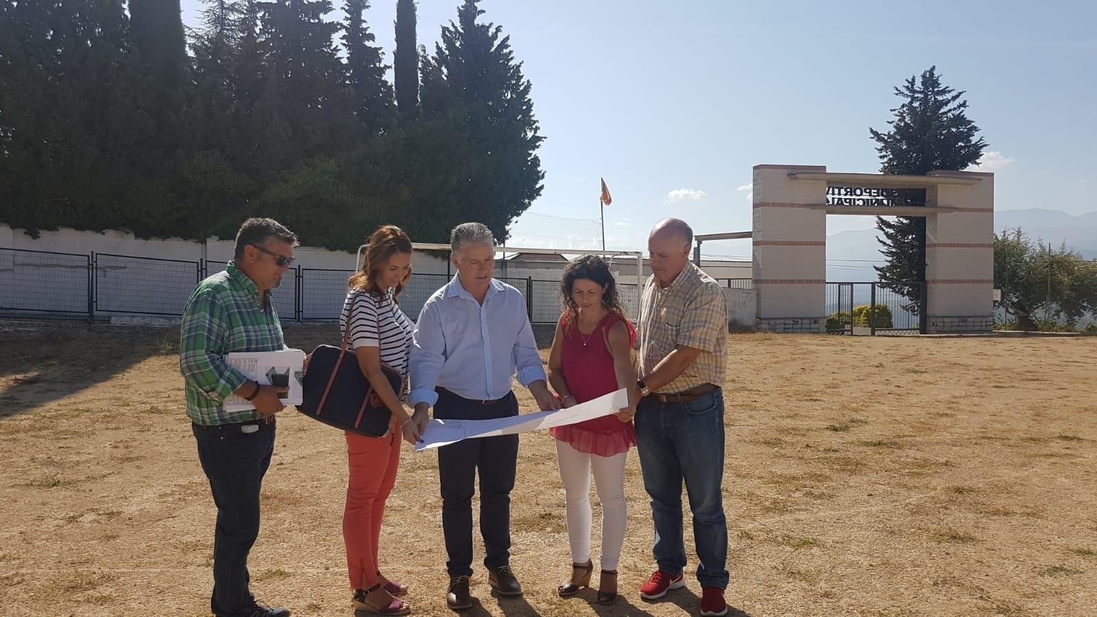 Diputación planifica una mejora general de instalaciones en Diezma