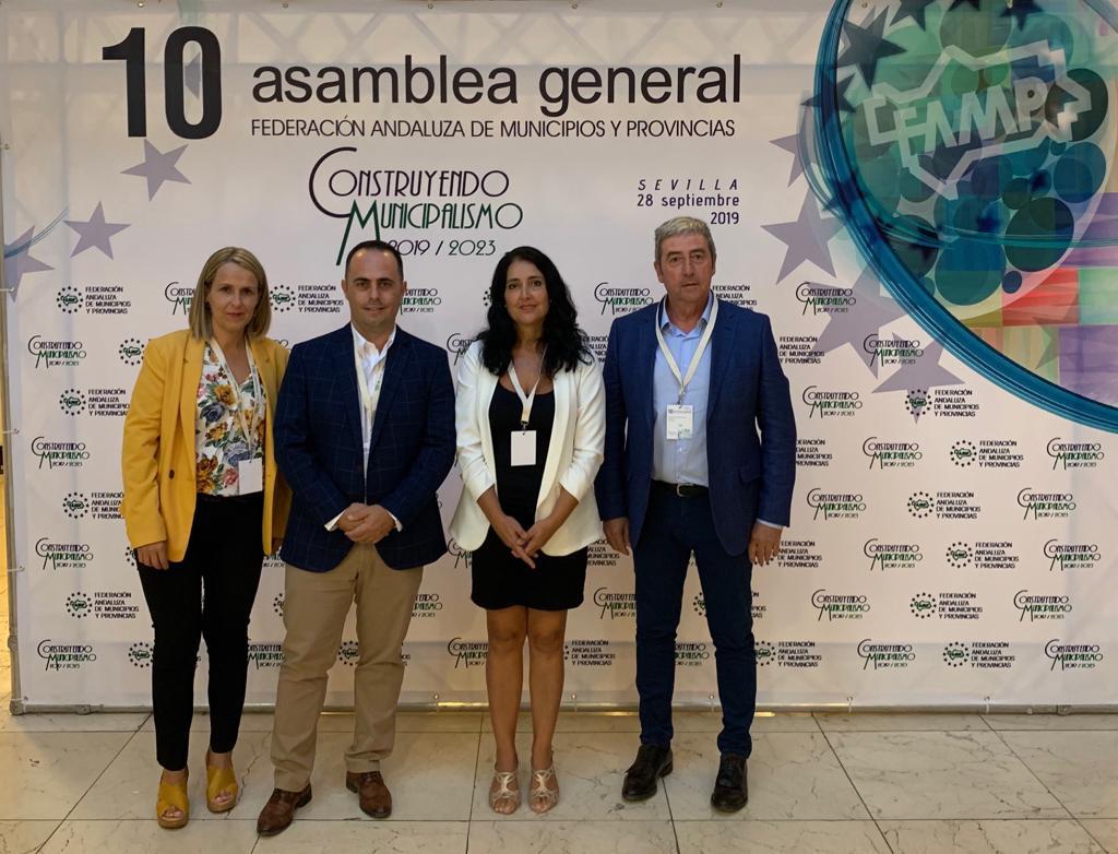 Los alcaldes de Castell de Ferro y Pulianas, elegidos miembros de la nueva Ejecutiva de la FAMP