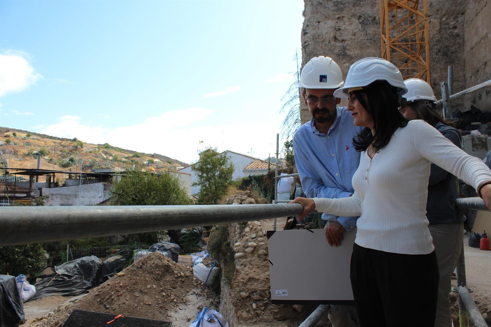 Nuevos hallazgos arqueológicos en las murallas del Albaicín centran los trabajos en la ermita de San Cecilio